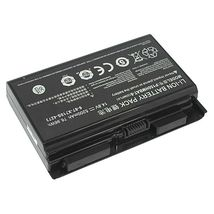 Аккумуляторная батарея для ноутбука DNS P150HMBAT-8 Clevo P150 14.8V Black 5200mAh Orig