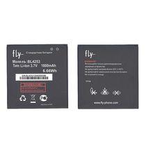 Оригинальная аккумуляторная батарея для смартфона Fly BL4253 IQ443 Trend 3.7V Black 1800mAhr 6.66Wh