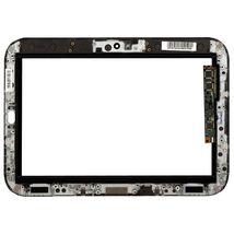 Тачскрин (Сенсорное стекло) для планшета Lenovo IdeaPad K1 черный с рамкой