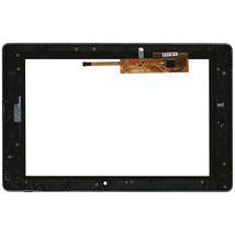 Тачскрин (Сенсорное стекло) для планшета Lenovo IdeaPad K2 черный с рамкой