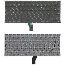 Клавиатура для ноутбука Apple MacBook Air 2010+ (A1369) Black, (No Frame), RU (плоский энтер)