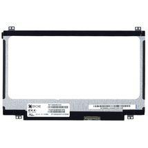 "Матрица для ноутбука 11,6"", Slim (тонкая), 40 pin (снизу справа), 1366x768, Светодиодная (LED), крепления сверху\снизу, глянцевая, BOE-Hydis, NT116WHM-N10"