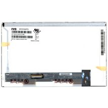 "Матрица для ноутбука 10,1"", Normal (стандарт), 40 pin (снизу слева), 1024x600, Светодиодная (LED), без креплений, глянцевая, IVO, M101NWT2-R1"