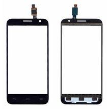 Тачскрин (Сенсорное стекло) для смартфона Alcatel One touch Idol 2 Mini 6016D черное