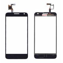 Тачскрин (Сенсорное стекло) для смартфона Alcatel Idol 2 mini S 6036Y черное