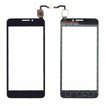 Тачскрин (Сенсорное стекло) для смартфона Alcatel Idol X 6040D черное