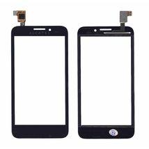 Тачскрин (Сенсорное стекло) для смартфона Alcatel One Touch Snap 7025D черное