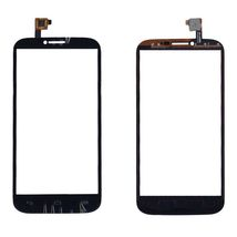 Тачскрин (Сенсорное стекло) для смартфона Alcatel POP C9 7047D черное