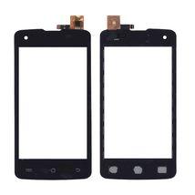 Тачскрин (Сенсорное стекло) для смартфона DNS S4006 черный