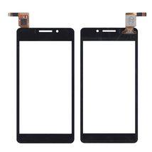 Тачскрин (Сенсорное стекло) для смартфона DNS S4503Q черный