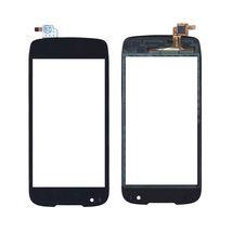 Тачскрин (Сенсорное стекло) для смартфона Fly IQ4405 Quad (EVO Chic 1) черный
