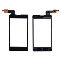 Тачскрин (Сенсорное стекло) для смартфона DNS S4003 черный