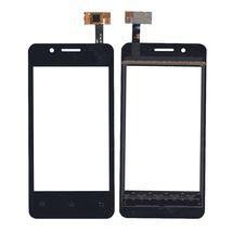 Тачскрин (Сенсорное стекло) для смартфона Keneksi Libra Dual черный