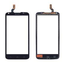 Тачскрин (Сенсорное стекло) для смартфона Huawei Ascend G710 черный 068A1-WSH1402