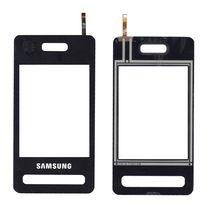 Тачскрин (Сенсорное стекло) для смартфона Samsung SGH D980 черный
