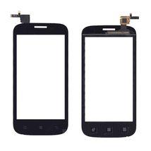 Тачскрин (Сенсорное стекло) для смартфона Lenovo A760 черное