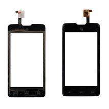 Тачскрин (Сенсорное стекло) для смартфона Fly IQ449 Pronto черный