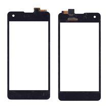 Тачскрин (Сенсорное стекло) для смартфона Highscreen Omega Prime S черный