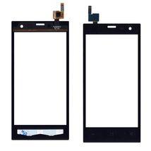 Тачскрин (Сенсорное стекло) для смартфона Highscreen Zera S черный