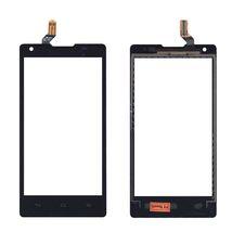 Тачскрин (Сенсорное стекло) для смартфона Huawei Ascend G700 черный