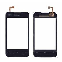 Тачскрин (Сенсорное стекло) для Huawei Ascend Y200 черный