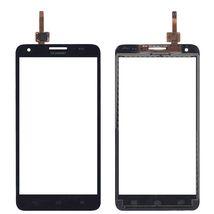 Тачскрин (Сенсорное стекло) для смартфона Huawei Honor 3X (G750) черный