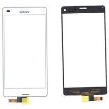 Тачскрин (Сенсорное стекло) для смартфона Sony Xperia Z3 Compact D5803, D5833 белый