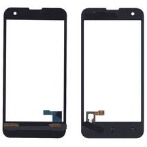 Тачскрин (Сенсорное стекло) для смартфона Xiaomi Mi-2S черный