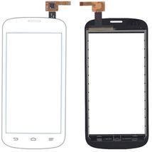 Тачскрин (Сенсорное стекло) для смартфона ZTE Blade 2 V818 белый