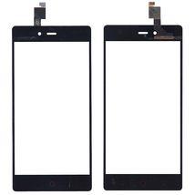 Тачскрин (Сенсорное стекло) для смартфона ZTE Nubia Z9 mini черный