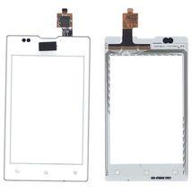 Тачскрин (Сенсорное стекло) для смартфона Sony Xperia E / E Dual C1505, C1605 белый