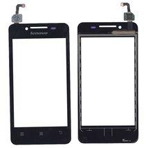 Тачскрин (Сенсорное стекло) для смартфона Lenovo IdeaPhone A319 черный