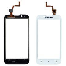 Тачскрин (Сенсорное стекло) для смартфона Lenovo IdeaPhone A328 белый