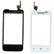 Тачскрин (Сенсорное стекло) для смартфона Lenovo A390 белый