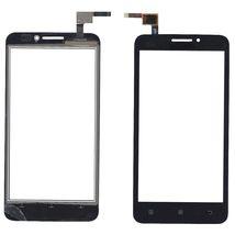 Тачскрин (Сенсорное стекло) для смартфона Lenovo A606 черный