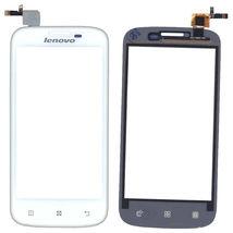Тачскрин (Сенсорное стекло) для смартфона Lenovo A760 белый
