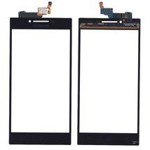 Тачскрин (Сенсорное стекло) для смартфона Lenovo P70 черный