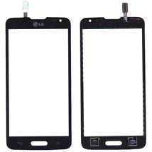 Тачскрин (Сенсорное стекло) для смартфона LG L90 D405 черный