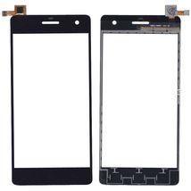 Тачскрин (Сенсорное стекло) для смартфона Micromax Canvas Knight A350 черный