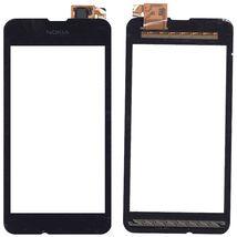 Тачскрин (Сенсорное стекло) для смартфона Nokia Lumia 530 черный