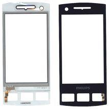 Тачскрин (Сенсорное стекло) для смартфона Philips Xenium W725 черный