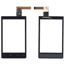 Тачскрин (Сенсорное стекло) для смартфона Philips Xenium W930 черный