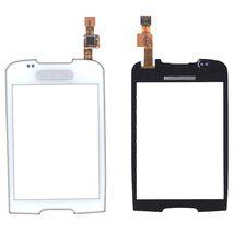 Тачскрин (Сенсорное стекло) для смартфона Samsung Galaxy Mini GT-S5570 белый