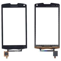 Тачскрин (Сенсорное стекло) для смартфона Samsung Wave II GT-S8530 черный