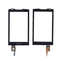 Тачскрин (Сенсорное стекло) для смартфона Samsung M1 GT-I6410 черный