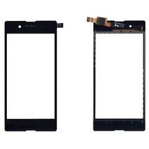 Тачскрин (Сенсорное стекло) для смартфона Sony Xperia E3 черный