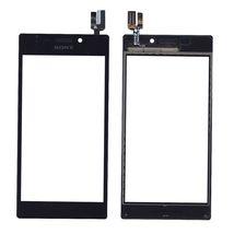 Тачскрин (Сенсорное стекло) для смартфона Sony Xperia M2 черный