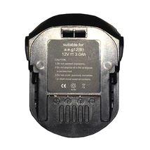 Аккумулятор для шуруповерта AEG B1215R 3.0Ah 12V черный