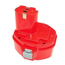 Аккумулятор для шуруповерта Makita 1434 1051D 1.5Ah 14.4V красный Ni-Cd