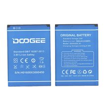 Оригинальная аккумуляторная батарея для Doogee X3 3.7V Blue 1800mAh 6.66Wh
